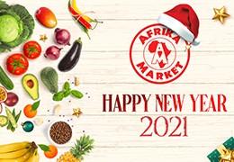 Afrika Market vous souhaite une bonne année 2021