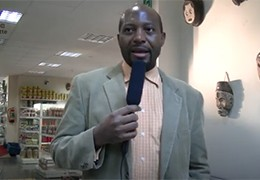 Hugues Ngankam parle d'Afrik'Art Vandaag 2018