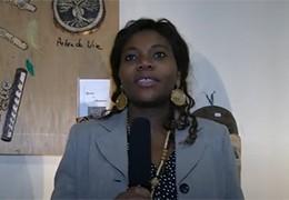 Joséphine Alebekal parle d'Afrik'Art Vandaag 2018